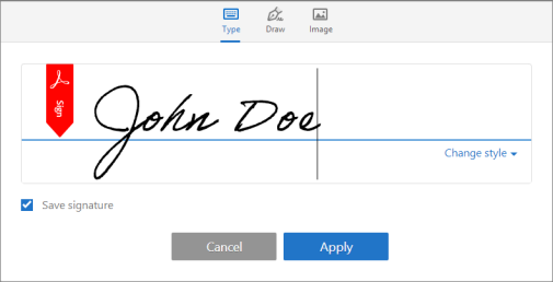 how to insert a signature in word